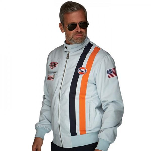Gulf Jacket Michael Delaney gulf blue - limited