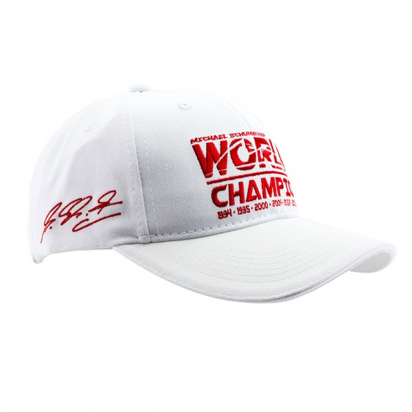 Michael Schumacher Cap World Champion white