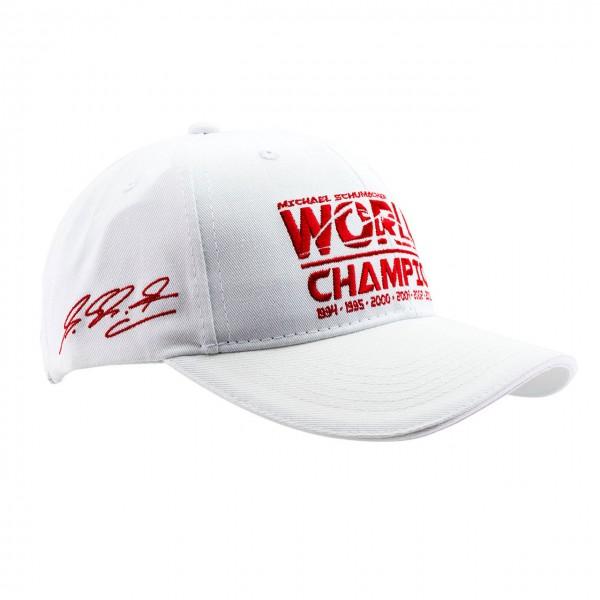 Michael Schumacher Cap World Champion white