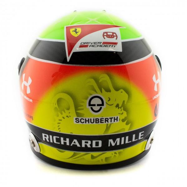 Mick Schumacher miniature helmet 2020 1/2