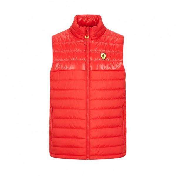 Scuderia Ferrari Padded Gilet red