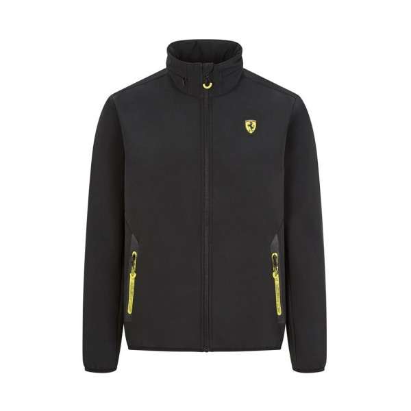 Scuderia Ferrari Softshell Jacket black