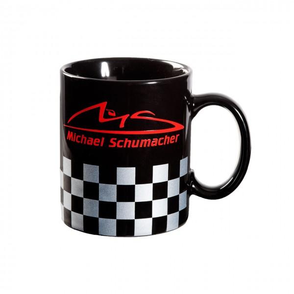 Michael Schumacher Taza Chequered