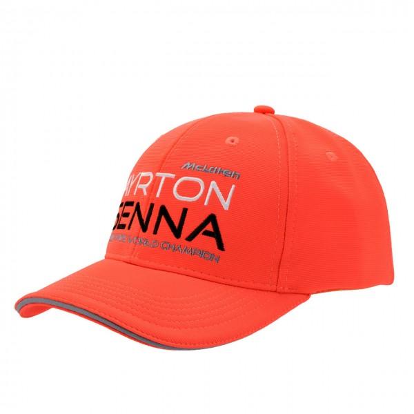 Ayrton Senna Casquette McLaren Triple Champion du Monde Enfant