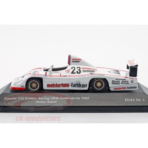 Stefan Bellof Porsche 936 #23 DRM Hockenheim 1982 1/43