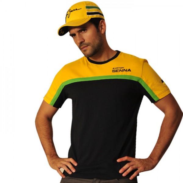 Ayrton Senna T-Shirt Racing