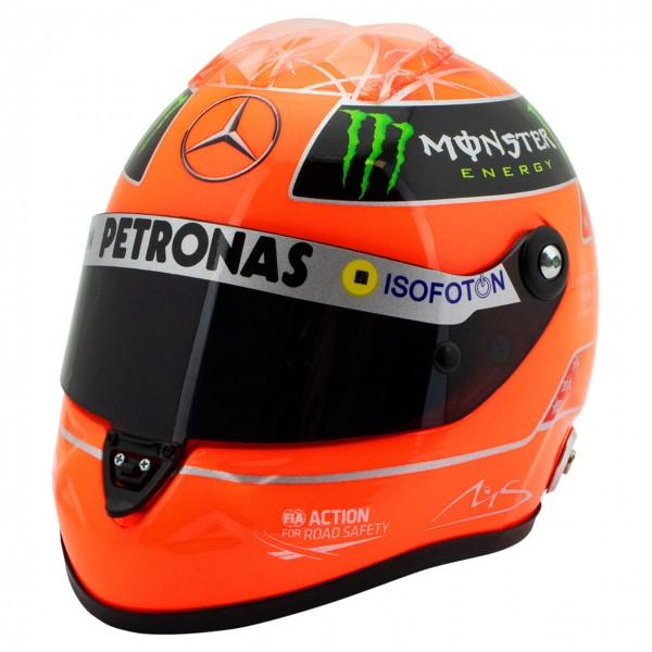 Michael Schumacher Final Helm GP Formel 1 2012 1:2