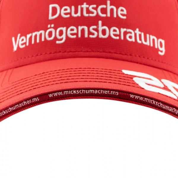 Mick Schumacher Gorra Campeón del mundo 2020 rojo