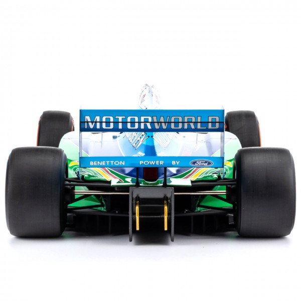 Mick Schumacher Benetton Ford B194 Demo Run Belgien GP 2017 1/8