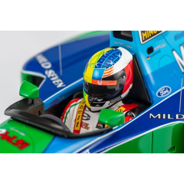Mick Schumacher Benetton Ford B194 Demo Run GP de Belgique 2017 1/8