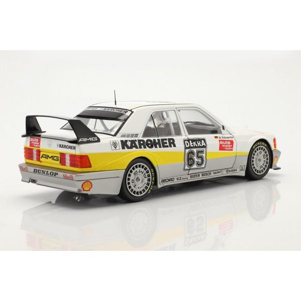 Michael Schumacher Mercedes-Benz 190E Evo2 #65 DTM 1990 1/18