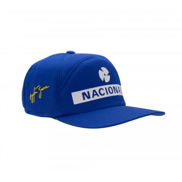 Ayrton Senna Replika Cap Nacional right