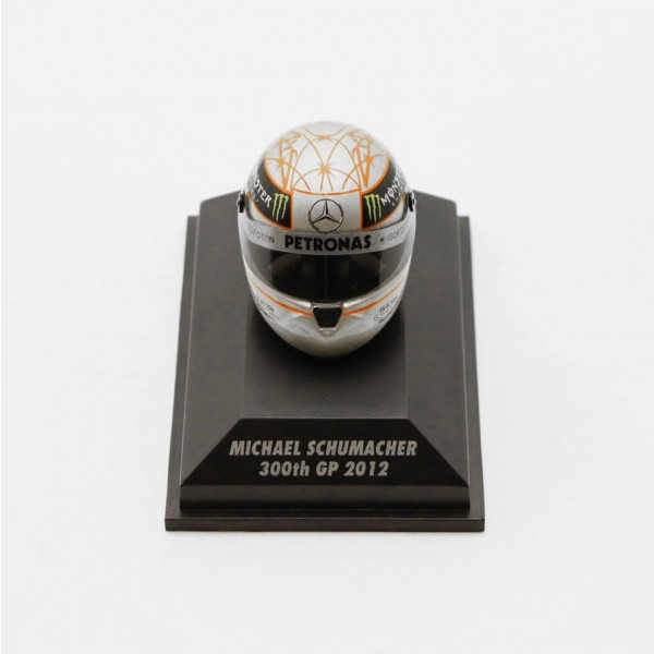 Michael Schumacher Replika Helm 300th GP Spa 2012 1:8