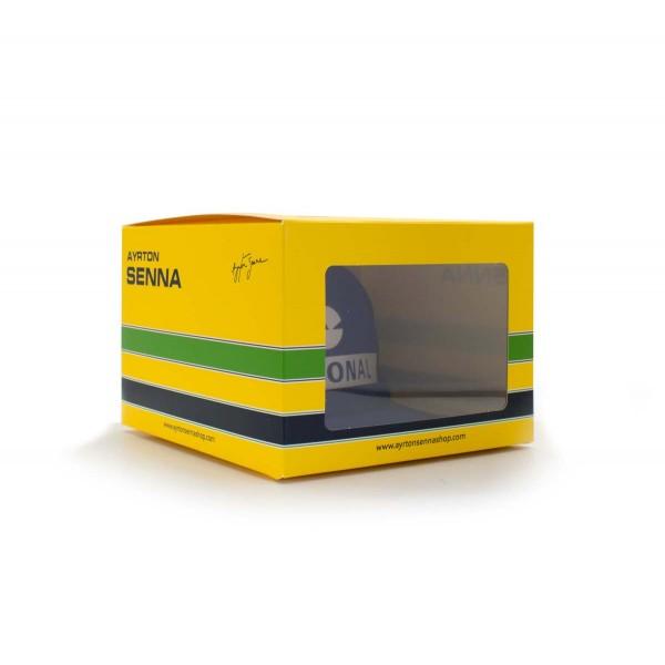 Ayrton Senna Replika Cap Nacional box