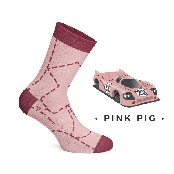 Pink Pig Socks