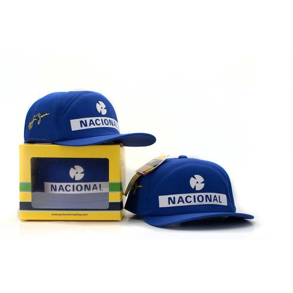 Ayrton Senna Replika Cap Nacional multiple