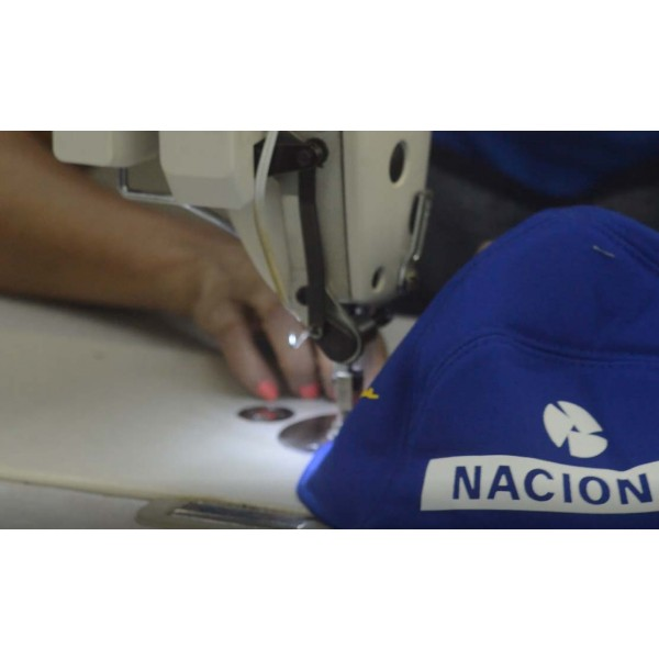 Ayrton Senna Replica Cap Nacional manufacturing 3