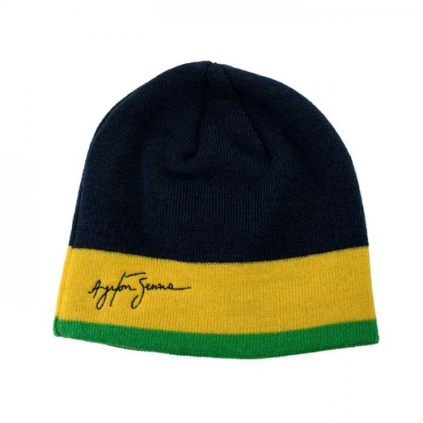 Ayrton Senna Beanie Racing