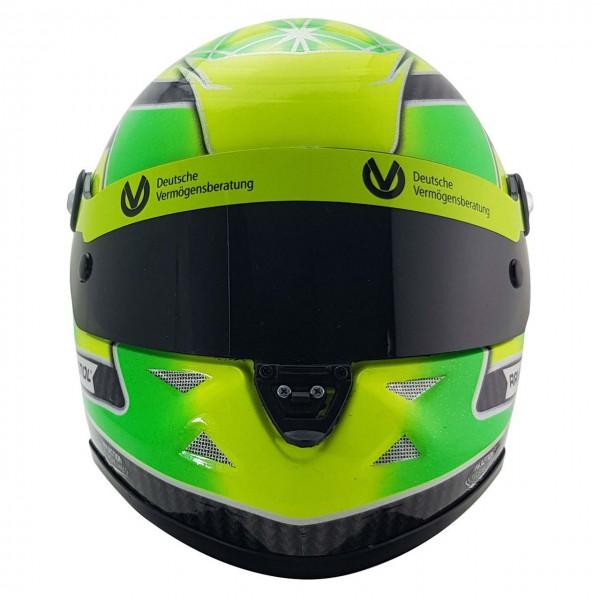 Mick Schumacher Miniaturhelm Belgien Spa 2018 Formel 3 Champion 1:2