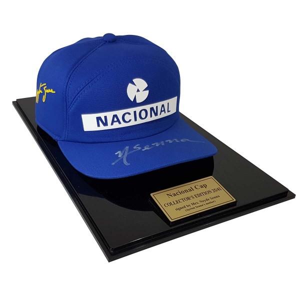 Ayrton Senna Replica Cap Nacional Limited Edition 3