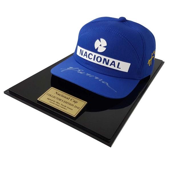 Ayrton Senna Replica Cap Nacional Limited Edition 4