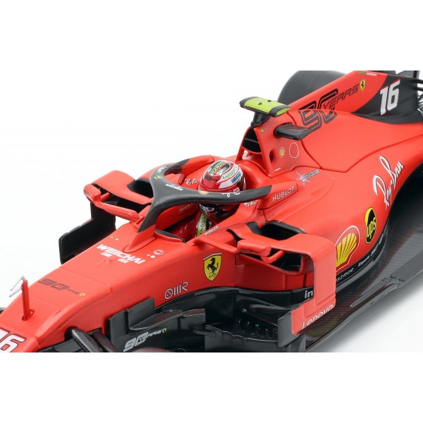 Charles Leclerc Ferrari SF90 #16 Winner Italy GP F1 2019 1/18