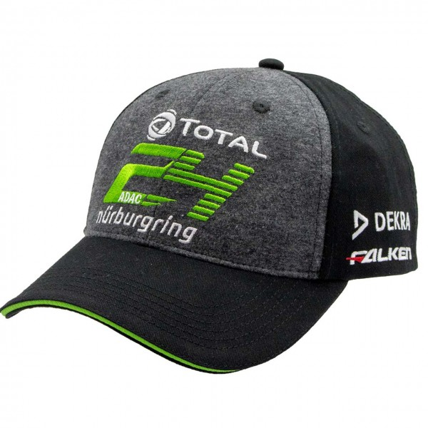 24h-Rennen Cap Sponsor 2020 grey