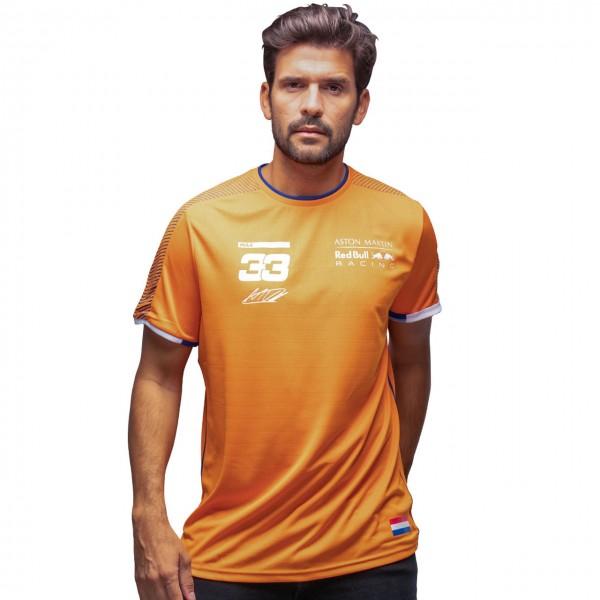 Red Bull Racing Driver Fan T-Shirt Verstappen Orange