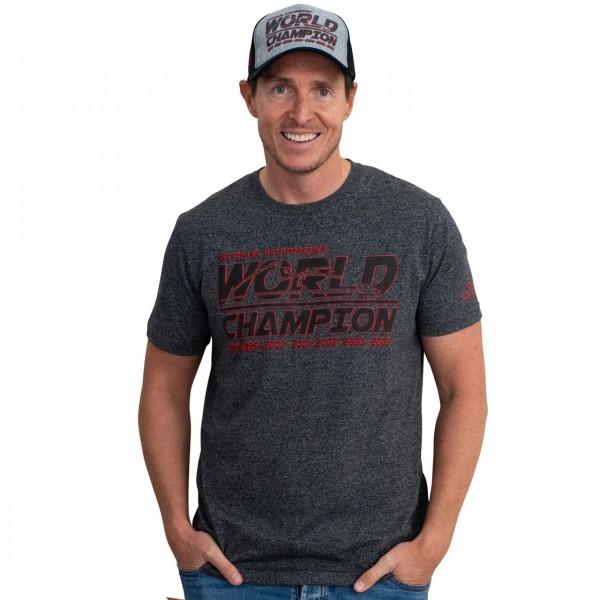 Michael Schumacher T-Shirt Racing anthracite