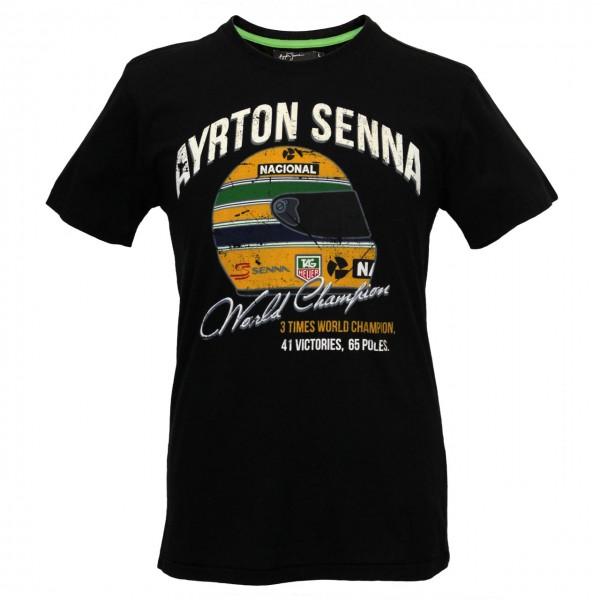 Ayrton Senna T-Shirt World Champion