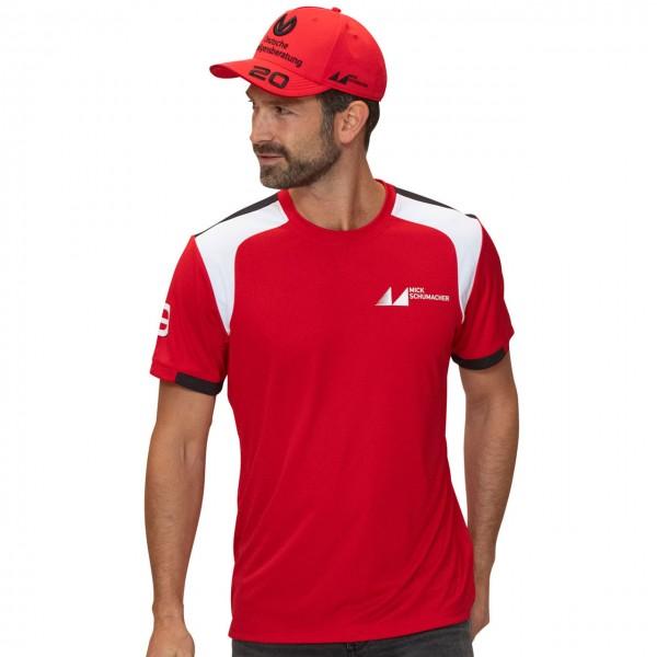Mick Schumacher T-Shirt rot