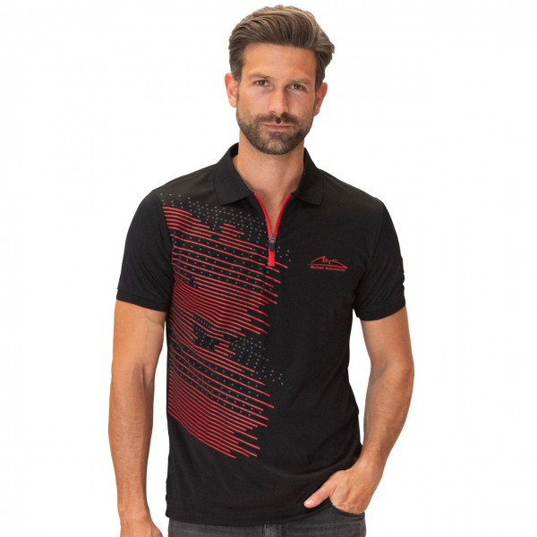 Michael Schumacher Poloshirt Speedline black