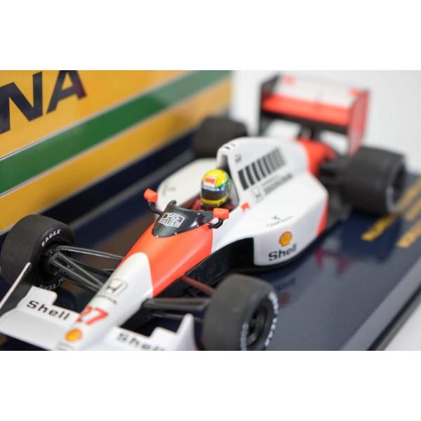 Ayrton Senna McLaren Honda MP 4/5B Campeón del Mundo 1990 1/43