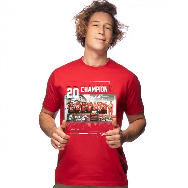 Mick Schumacher T-Shirt F2 Champion du monde 2020