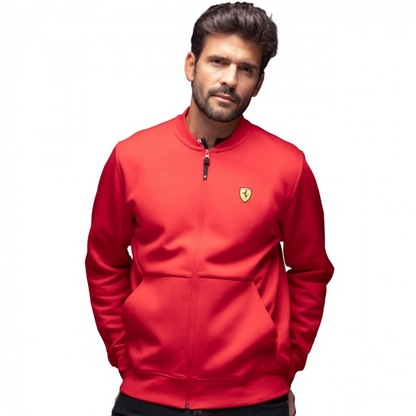 Scuderia Ferrari Sweat Jacket red