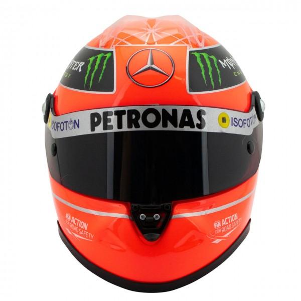 Michael Schumacher Casque GP Formule 1 2012 1/2