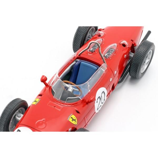 W. Graf Berghe v. Trips Ferrari 156 Sharknose #20 France GP F1 1961 1/18