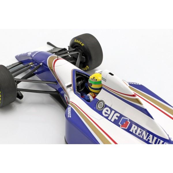 Ayrton Senna Williams FW16 #2 Brazil GP Formula 1 1994 1/18