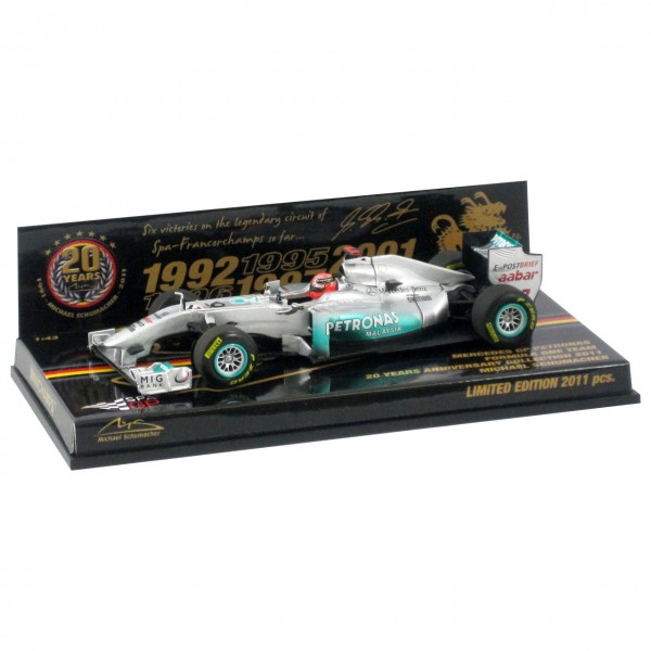Michael Schumacher 20 Years Collection 2011