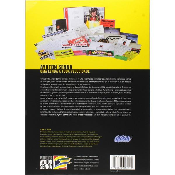 Ayrton Senna Book - Uma Lenda a Toda Velocidade