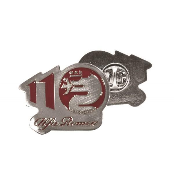 Alfa Romeo Lifestyle 110 Pin Anniversary red