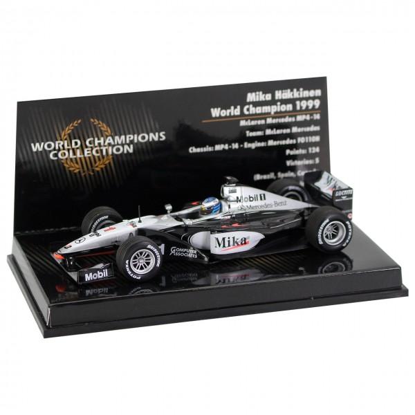 Mika Häkkinen World Champion 1999 McLaren