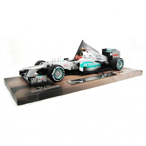 Michael Schumacher Mercedes GP W03 1:18 2012