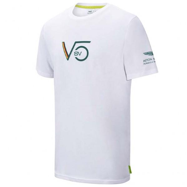 Aston Martin F1 Official Sebastian Vettel T-shirt white