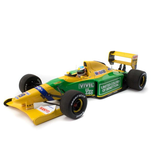 Michael Schumacher Minichamps Benetton Ford B192 front