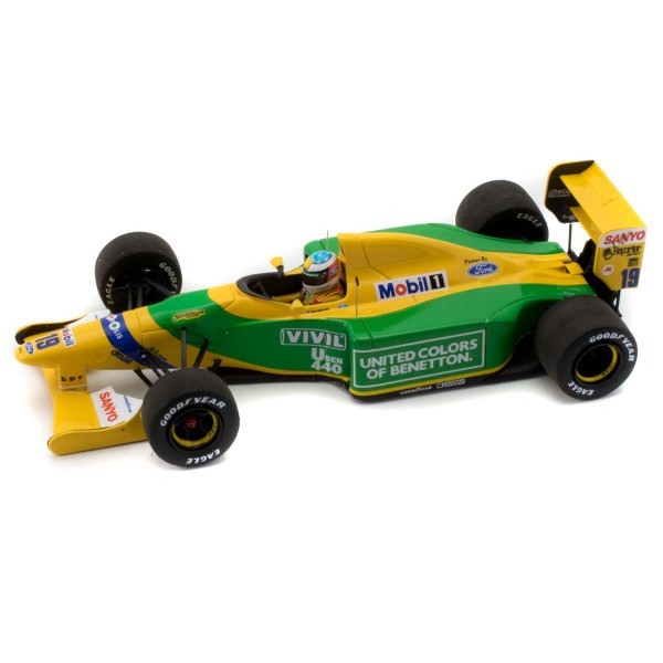 Michael Schumacher Minichamps Benetton Ford B192 left
