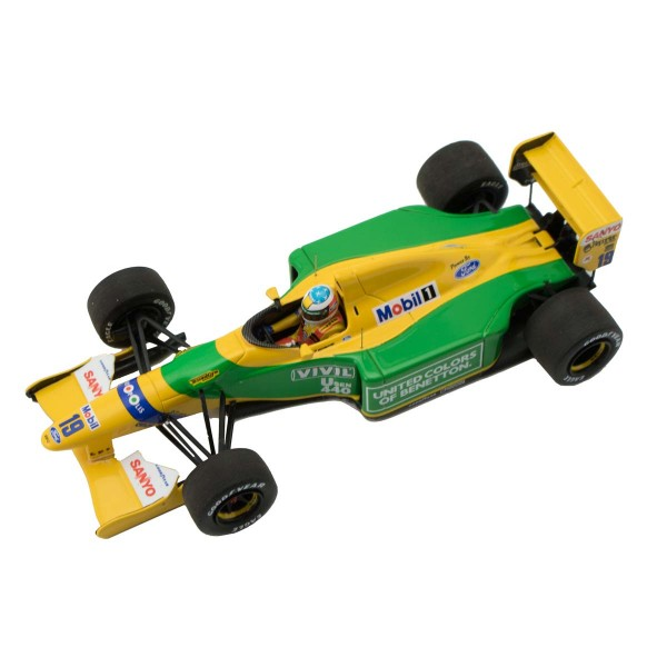 Michael Schumacher Minichamps Benetton Ford B192 top