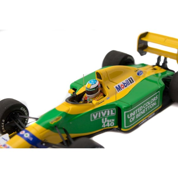 Michael Schumacher Minichamps Benetton Ford B192 detail