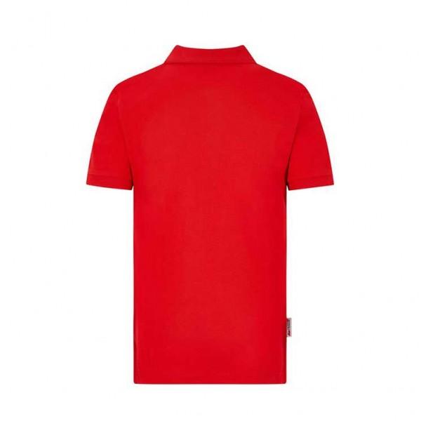 Polo Scuderia Ferrari Classic da bambino rossa