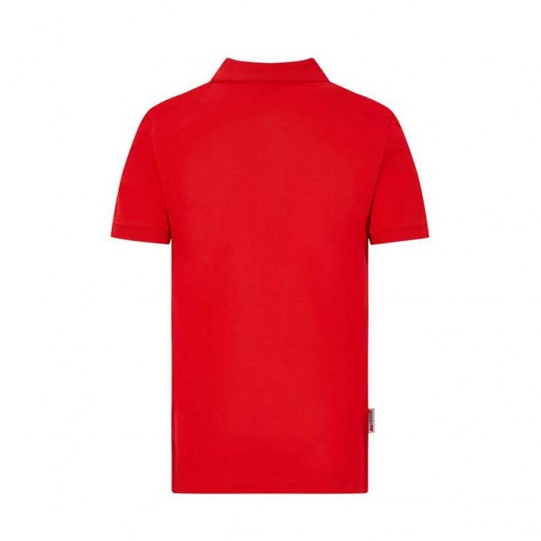 Polo Scuderia Ferrari Classic para niños rojo
